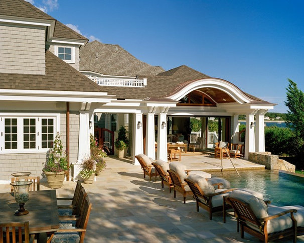 Traditional Patio by Nancy McLaughlin Interiors