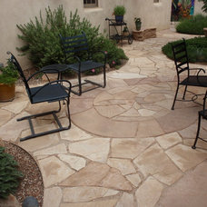 Eclectic Patio by Waterwise Landscapes Incorporated