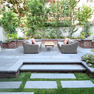 Waverly Ave, Brooklyn - Brownstone Complete Backyard and Landscape Renovation