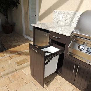 Weatherproof Polymer Cabinetry in Southwest FloridaOutdoor Kitchen - Naples, Fl