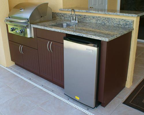 Saveemail Outdoor Kitchen Design Center Weatherproof Polymer Cabinetry