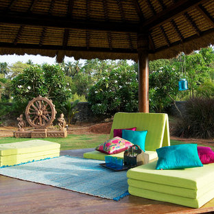 Inspiration for a huge contemporary patio remodel in Mumbai