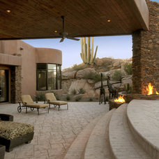 Southwestern Patio by Process Design Build, L.L.C.