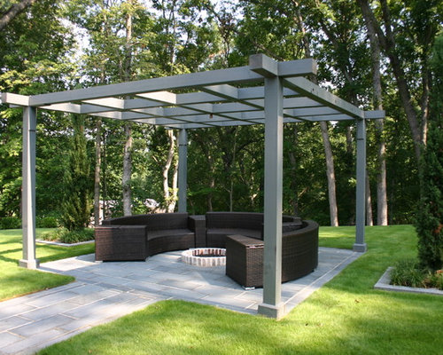 Modern Pergola Home Design Ideas Pictures Remodel And Decor