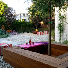 Contemporary Patio by Eric Brandon Gomez Garden Design-Build