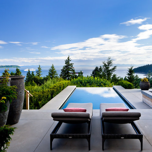 Cocktail pool houzz for Pool design vancouver