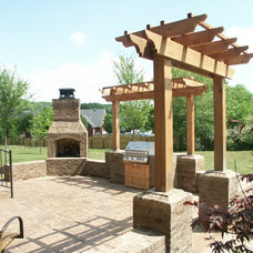 Traditional Patio by Action Builders Inc