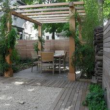 Contemporary Patio by Melissa MacDonald, Landscape Architect