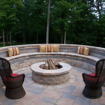 Westerville, Ohio Outdoor Living Area