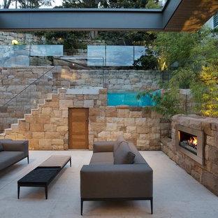 Contemporary patio in Sydney.