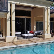 Contemporary Pool by Progressive Builders, Inc.