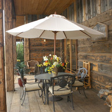 Traditional Patio by Legends West Reclaimed Lumber