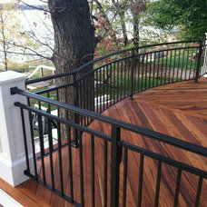 Traditional Patio by Legacy Decks