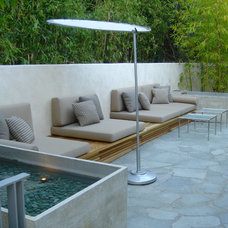 Contemporary Patio by Studio William Hefner