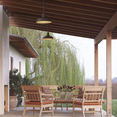 Transitional Patio by Melander Architects, Inc.