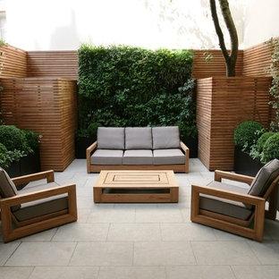 Idee per un piccolo patio o portico minimal
