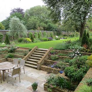 Exemple d'une terrasse victorienne.