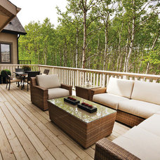 Contemporary Patio by Homes by Avi