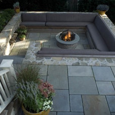Contemporary Patio by Jean Brooks Landscapes