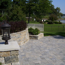 Traditional Patio by Rosemont Nursery