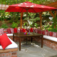mediterranean patio by Pollin's of Napa