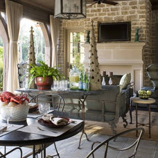 Traditional Patio by Old World Stoneworks