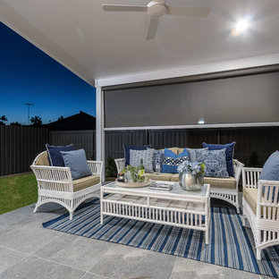 Inspiration for a beach style patio in Townsville.