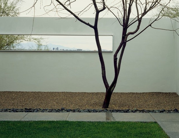 Minimalistisch Patio by Ibarra Rosano Design Architects