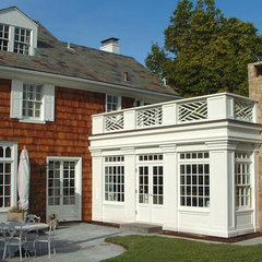 traditional patio by Wm. F. Holland/Architect
