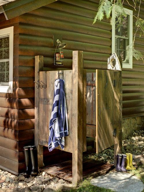 Rustic Shower Designs