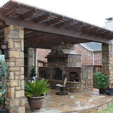 Contemporary Patio by Artistic Stoneworks