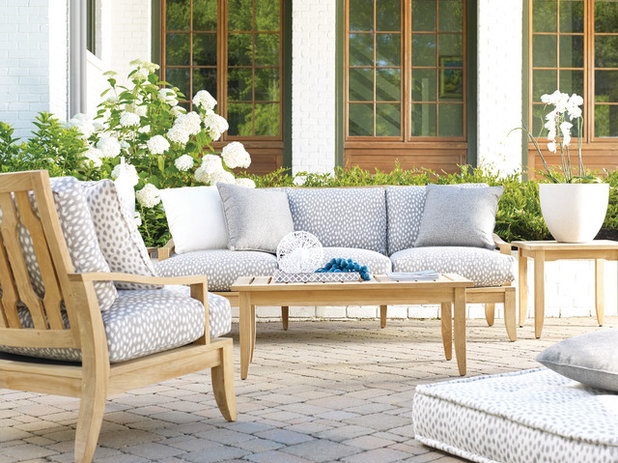 Shabby-chic Style Courtyard by Georgia Patio, Inc. - Outdoor Furniture