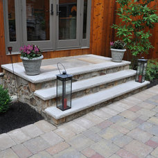 Traditional Patio by CLC Landscape Design