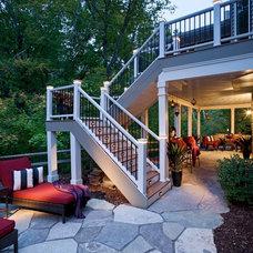 Traditional Patio by Magnolia Landscape & Design Co.