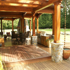 Traditional Patio by Cleary Design Studio, LLC