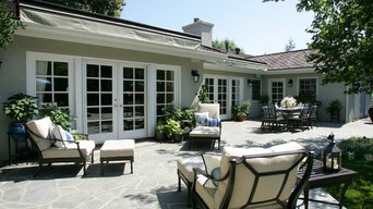 Woodland Hills Traditional Exterior and Hardscaping Remodel