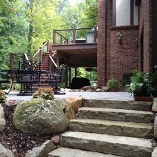 Traditional Patio by Miller Landscape Inc.