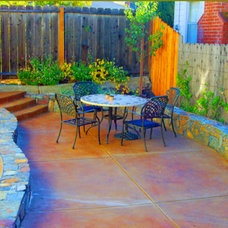 Eclectic Patio by Past the Gate