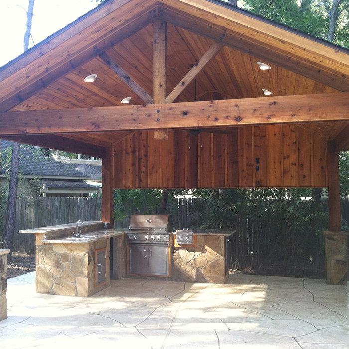 Woodlands Summer Kitchen