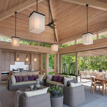 Woods Hole Pool House