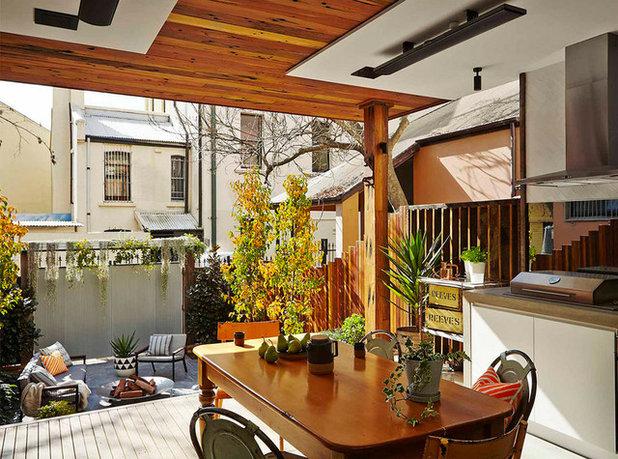 Contemporary Patio by Outdoor Establishments