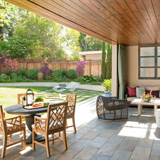 Contemporary Patio by Miller Design Co.