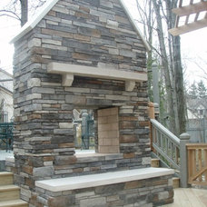 Eclectic Patio by Aspen Fireplace & Patio INC