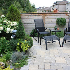 Contemporary Patio by Cedargate Landscaping Inc.