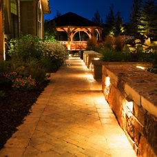 Rustic Patio by Platinum Landscape LLC