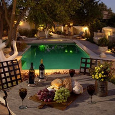 Eclectic Patio by Greg Trutza