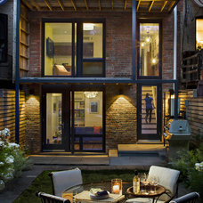 Traditional Patio by CWB Architects