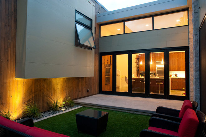 Modern Patio by West Standard Design Build