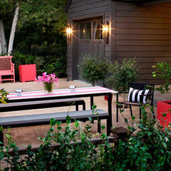 eclectic patio by Martha Angus Inc.