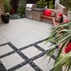Contemporary Patio by Revive Landscape Design